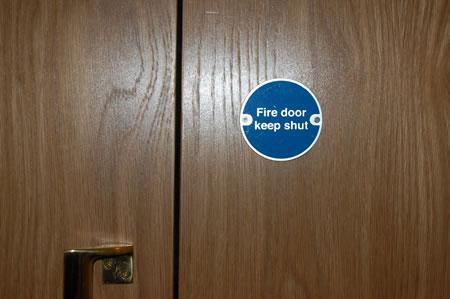 Fire Door Installations London   Fire Door Services Fire Door Keep Shut Location on